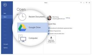 Salvare i file di Excel su Google Drive